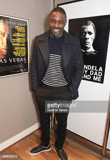 Idris Elba attends the premiere screening of his documentary film 'Mandela My Dad And Me' at the BFI Southbank on April 7 2015 in London England