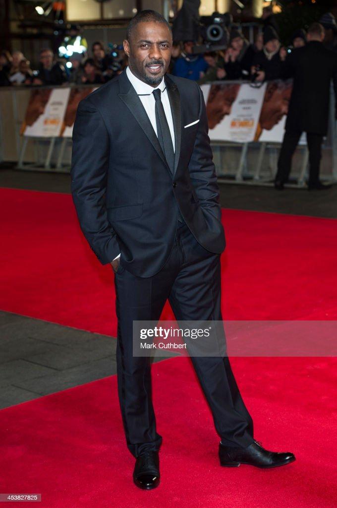 Idris Elba attends the Royal film performance of 'Mandela: Long Walk To Freedom' on December 5, 2013 in London, United Kingdom.