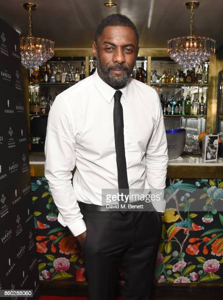 Idris Elba attends the The BARDOU Foundation's International Day Of The Girl Gala in support of The Princes Trust at Albert's Club on October 11 2017...