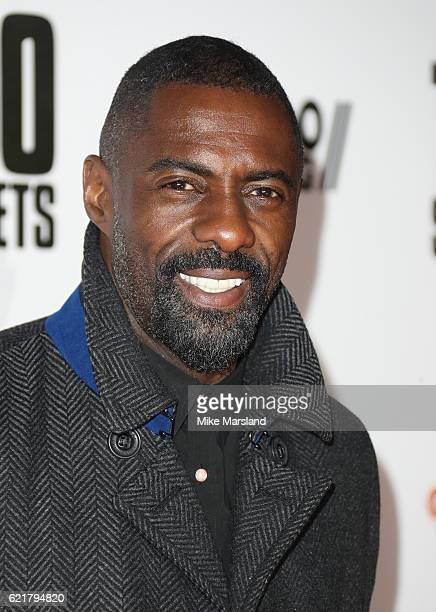 Idris Elba attends the UK premiere for '100 Streets' on November 8 2016 in London United Kingdom