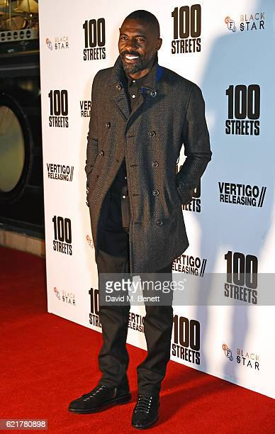 Idris Elba attends the UK Premiere of '100 Streets' at the BFI Southbank on November 8 2016 in London United Kingdom