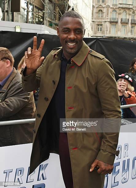 "Idris Elba attends the UK premiere of ""Star Trek Beyond"" on July 12, 2016 in London, United Kingdom."