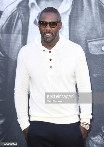 Idris Elba attends the UK premiere of 'Yardie' at BFI Southbank on August 21 2018 in London England