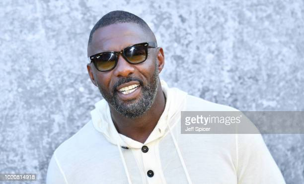 Idris Elba attends the UK premiere of Yardie at the BFI Southbank on August 21 2018 in London England