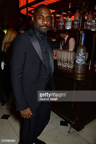 Idris Elba attends The Weinstein Company Entertainment Film Distributors Studiocanal 2016 BAFTA After Party in partnership with BVLGARI GREY GOOSE...