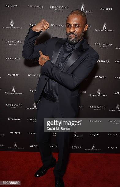 Idris Elba attends The Weinstein Company Entertainment Film Distributors Studiocanal 2016 BAFTA After Party in partnership with BULGARI GREY GOOSE...