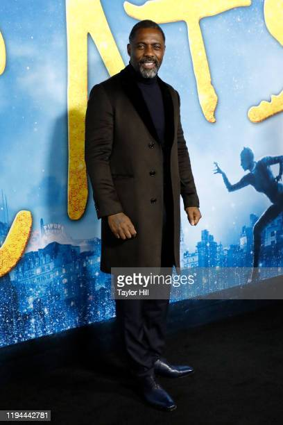 Idris Elba attends the world premiere of Cats at Alice Tully Hall Lincoln Center on December 16 2019 in New York City