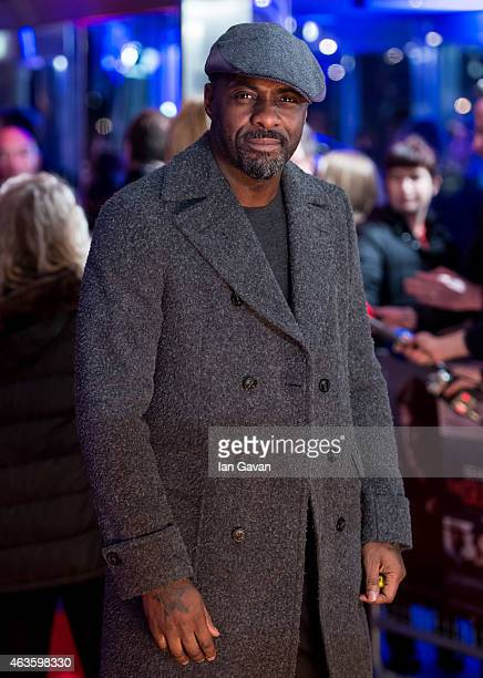 Idris Elba attends the World Premiere of 'The Gunman' at BFI Southbank on February 16 2015 in London England