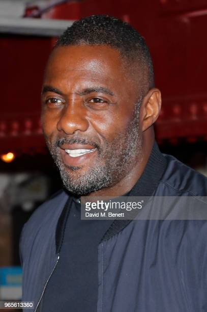 Idris Elba attends the Yardie screening during the Sundance Film Festival London at the Picturehouse Central on June 1 2018 in London England