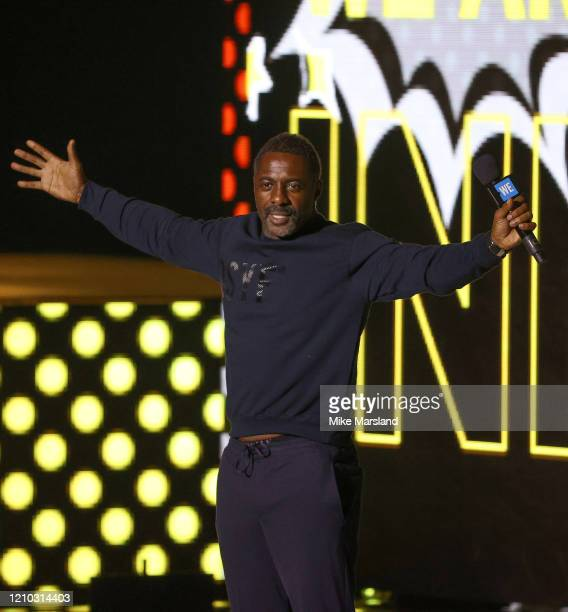 Idris Elba attends WE Day UK 2020 at The SSE Arena, Wembley on March 04, 2020 in London, England.