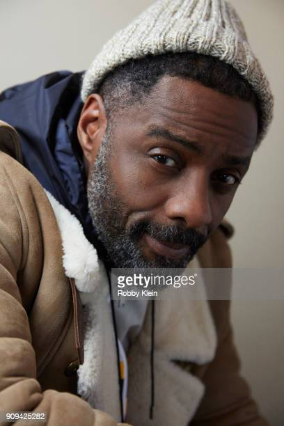 Idris Elba from the film 'Yardie' poses for a portrait at the YouTube x Getty Images Portrait Studio at 2018 Sundance Film Festival on January 21...