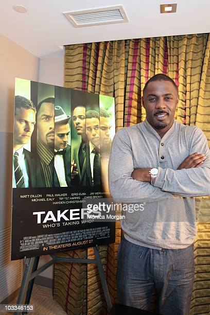 Idris Elba interviewed at MGM Grand Hotel on August 11 2010 in Detroit Michigan