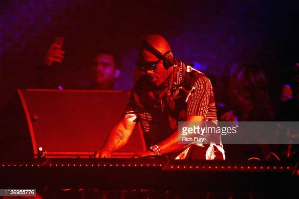 Idris Elba performs at Yuma Tent during the 2019 Coachella Valley Music And Arts Festival on April 13, 2019 in Indio, California.