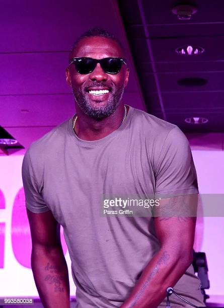 Idris Elba performs onstage during the 2018 Essence Festival Day 2 at Louisiana Superdome on July 7 2018 in New Orleans Louisiana
