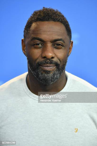 Idris Elba poses at the 'Yardie' photo call during the 68th Berlinale International Film Festival Berlin at Grand Hyatt Hotel on February 22 2018 in...