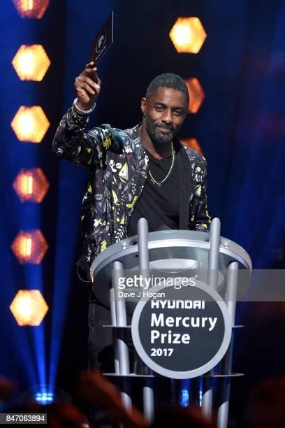 Idris Elba presents at the Hyundai Mercury Prize 2017 at Eventim Apollo on September 14 2017 in London England