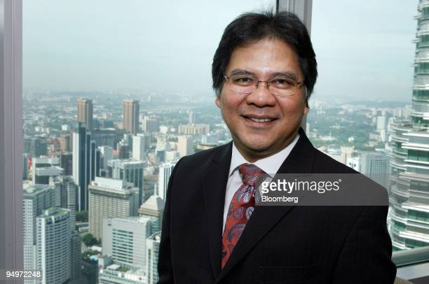 Idris Jala chief executive officer of Malaysian Airline System Bhd poses for a photograph during an interview in Kuala Lumpur Malaysia on Wednesday...