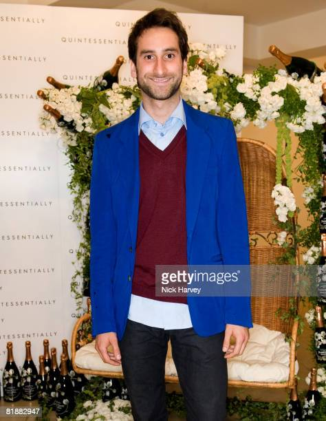 Idris Khan attends The Quintessentially Summer Arts Party at Phillips de Pury & Company on July 9, 2008 in London, England.