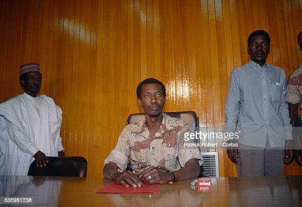 Idriss Deby leader of the Forces Armées Nationales Chadiennes or National Army of Chad seizes control of the country The FANT rebellion seized power...