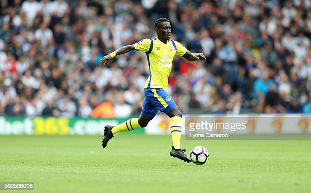 Idriss Gana Gueye of Everton during the Premier League match between West Bromwich Albion and Everton at The Hawthorns on August 20 2016 in West...