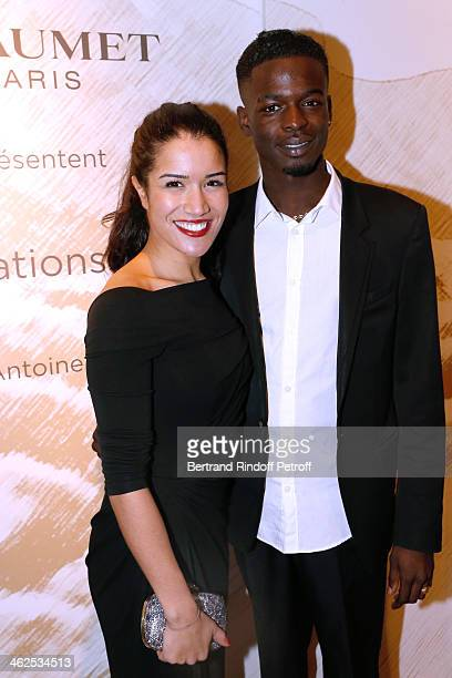 Idrissa Diabate sponsored by Sabrina Ouazani for the movie 'La cite rose' at the Chaumet's Cocktail Party for Cesar's Revelations 2014 at Musee...