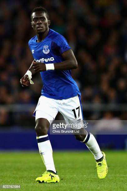 Idrissa Gueye of Everton in action during the UEFA Europa League Third Qualifying Round First Leg match between Everton and MFK Ruzomberok at...