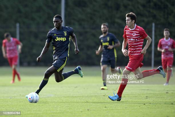 Idrissa Toure of Juventus Under 23 during the Friendly Match between Juventus U23 and Busto 81 at Juventus Center Vinovo on August 30 2018 in Vinovo...