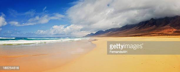 Idylic Panorama de la playa