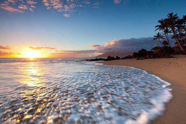 idylic maui coastline - hawaii, kihei