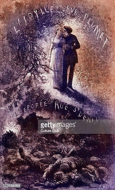 'L'idylle rue Plumet et l'épopée rue SaintDenis' book IV of Les Misérables by Victor Hugo Front cover Novel in five books Illustration by Fortune...