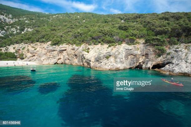 Idyllische strand, Kroatië
