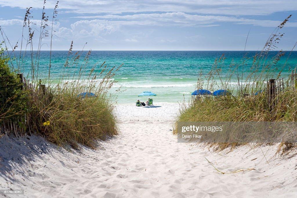 Idyllic Beach in Florida : Stock-Foto