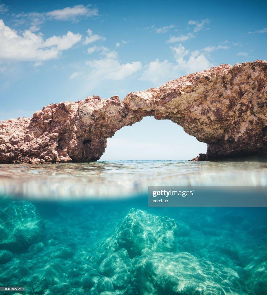 Idyllic Beach In Milos : Stock Photo