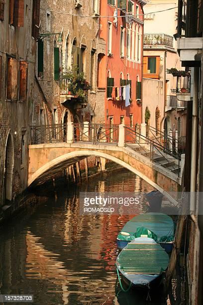 Idyllic bridge in Venice, Veneto Italy