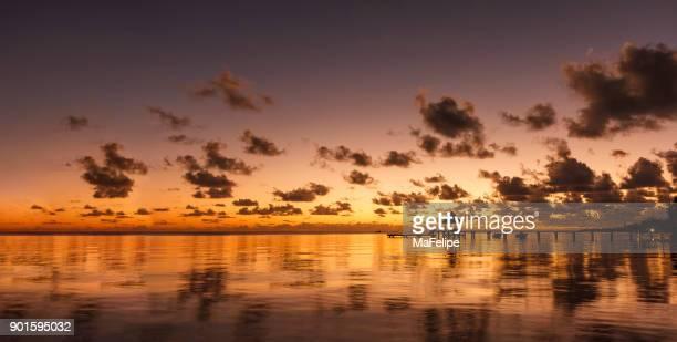 Idyllic Rangiroa Island in French Polynesia