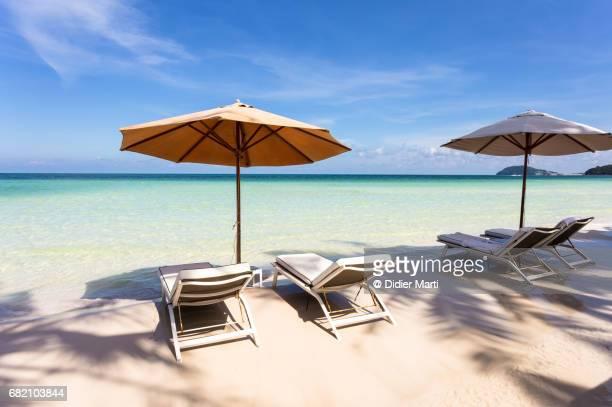 Idyllic Sai Bao beach in Phu Quoc island in Vietnam