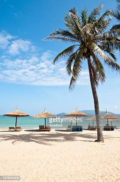 Idyllic Tropical Beach In Nha Trang, Vietnam