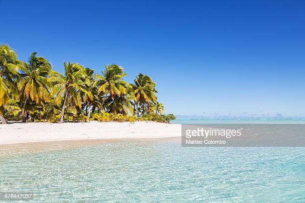Idyllic tropical beach, One Foot Island