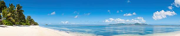 Idyllic Vacation Beach White Sands Tropical Island Blue Lagoon Wall Art