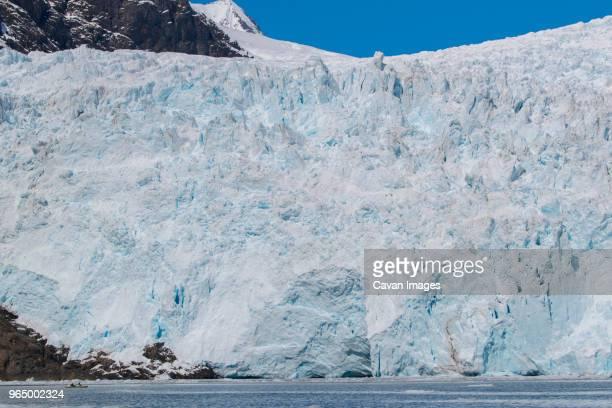 Idyllic view of Holgate Glacier at Kenai Fjords National Park