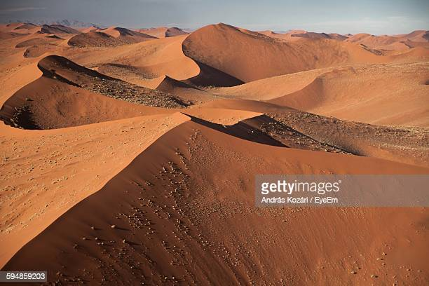 Idyllic View Of Namib Desert