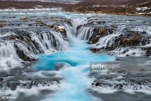 Idyllic waterfall, Iceland