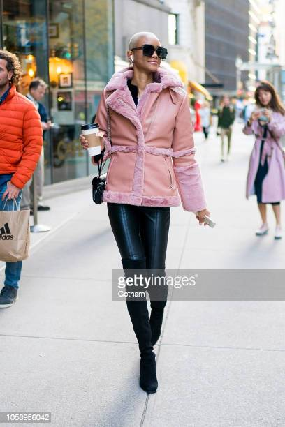 Iesha Hodges attends rehearsals for the 2018 Victoria's Secret Fashion Show in Midtown on November 7 2018 in New York City
