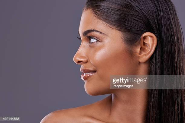 Wenn Schönheit Hatten Sie ein Profil.