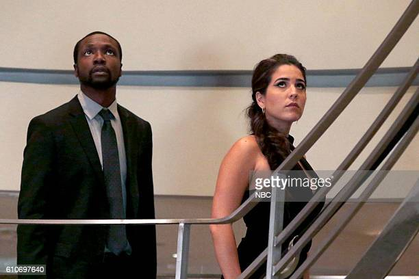 BLINDSPOT If Beth Episode 204 Pictured Rob Brown as Edgar Reade Audrey Esparza as Tasha Zapata