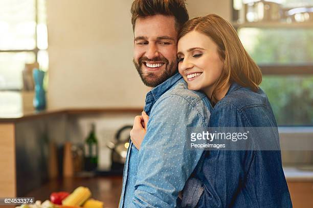 if he cooks for you, he's a keeper - couples making passionate love stock pictures, royalty-free photos & images