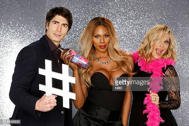 NIGHT 'If It Ain't Burke Don't Fix It' Episode 405 Pictured Brandon Routh Laverne Cox Molly Sims