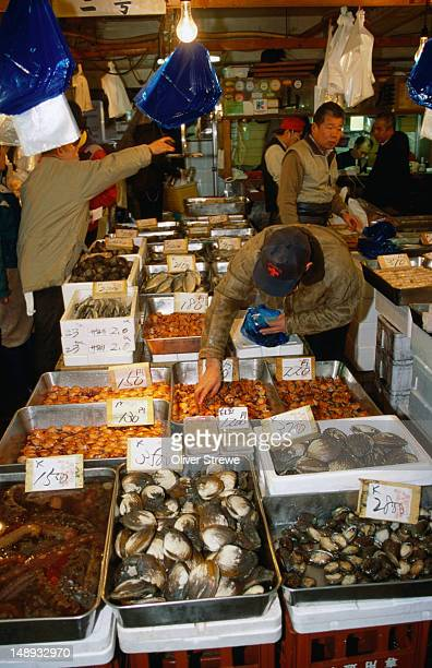 If it lives in the sea, you will find it at the Tsukiji Fish Market, Tokyo