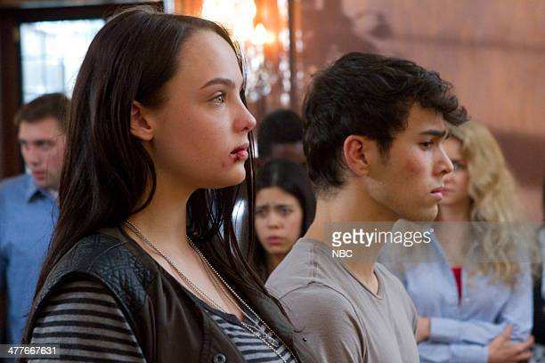CRISIS If you are watching this I am dead Episode 101 Pictured Stevie Lynn Jones as Beth Ann Gibson Max Schneider as Ian Martinez