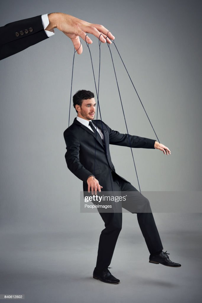 If you don't control your business, someone else will : Stock Photo